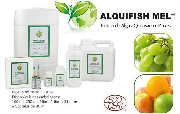 Fertilizante orgânico alquifish mel